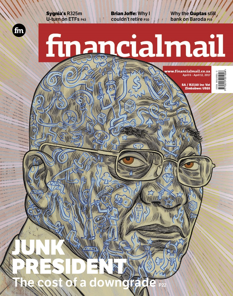 Financial Mail, 6 April 2017: Jacob Zuma