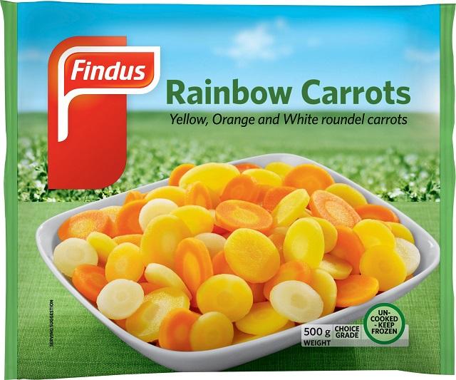 Findus Rainbow Carrots