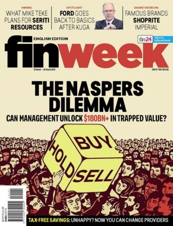 Finweek, 15-28 March 2018