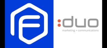 Flume logo and DUO Marketing logo