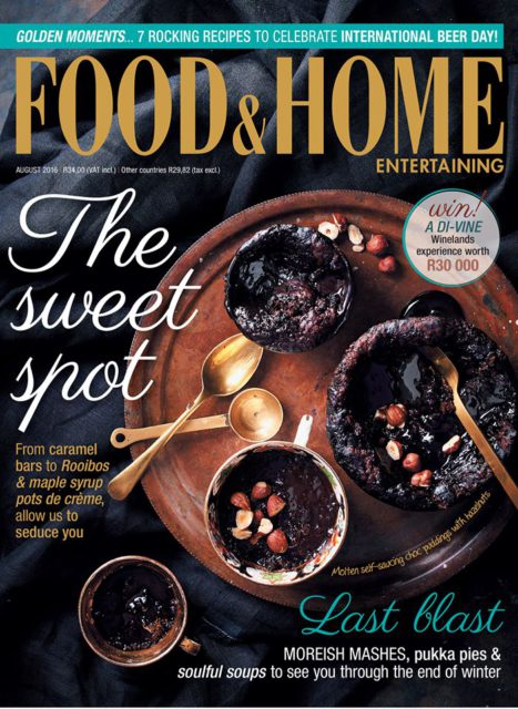 Food & Home Entertaining, August 2016