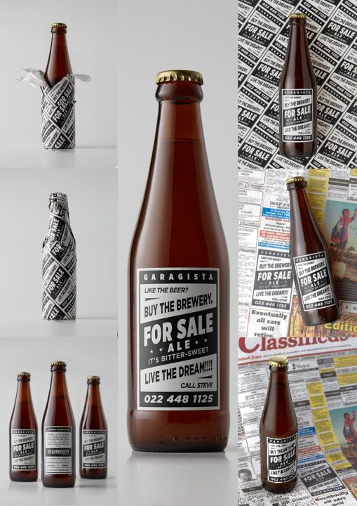 For Sale Ale packshots collage