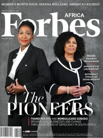Forbes Africa, August 2019