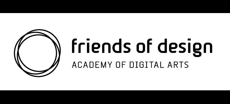 Friends of Design - Academy of Digital Arts logo