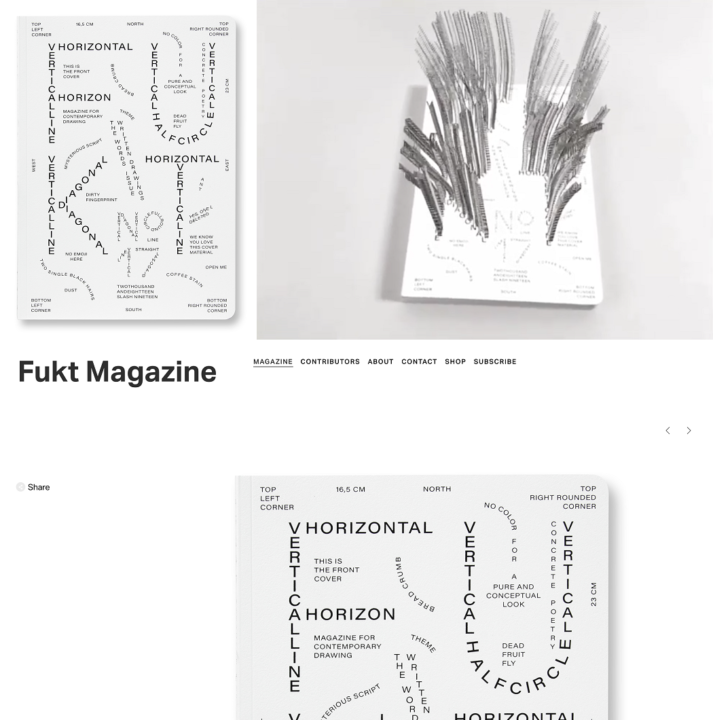 Fukt, print with AR and online, issue 17, 2018