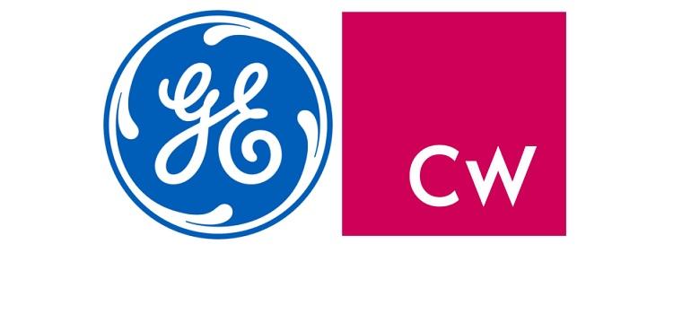 GE logo and Colourworks logo