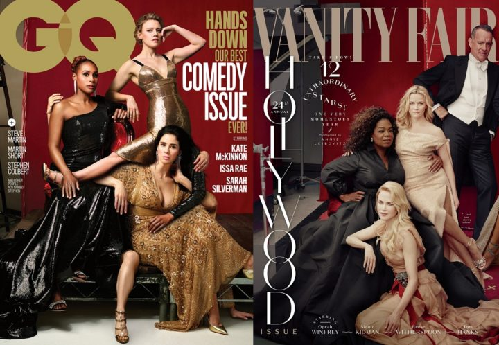 GQ Comedy Issue 2018 and Vanity Fair Hollywood Issue 2018