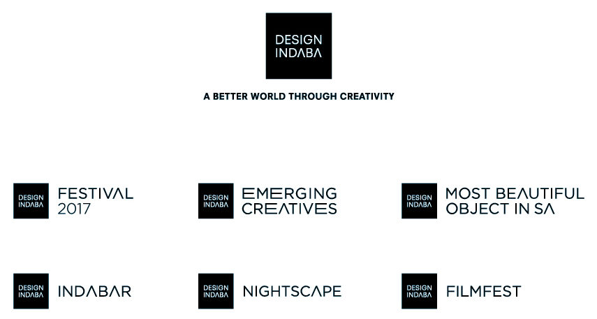 GRID Design Indaba 2017 brand architecture