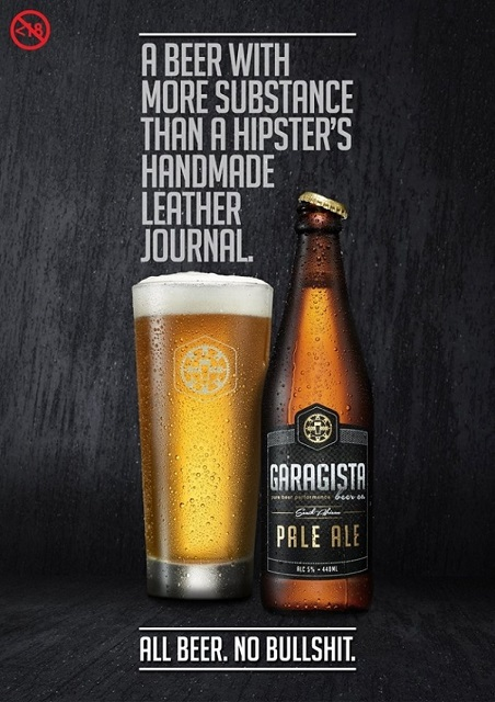 Garagista: A beer with more substance than a hipster's handmade leather journal