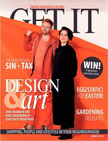 Get It Joburg North, March 2018 - Koos Groenewald and Jana Hamman