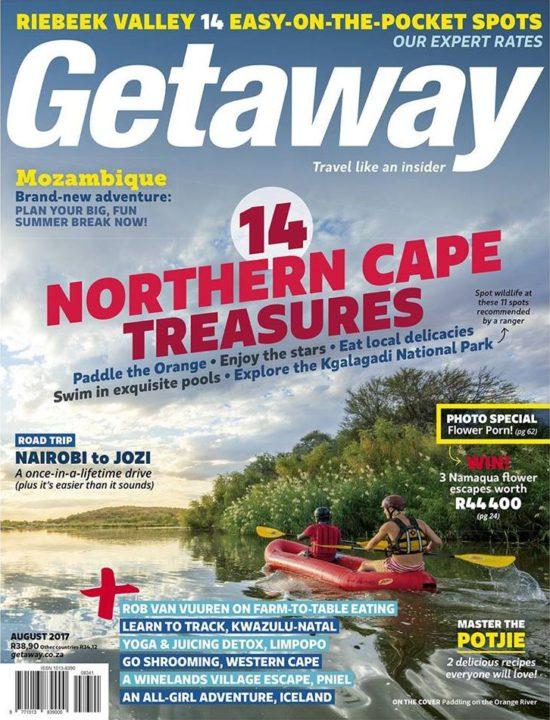 Getaway Magazine, August 2017