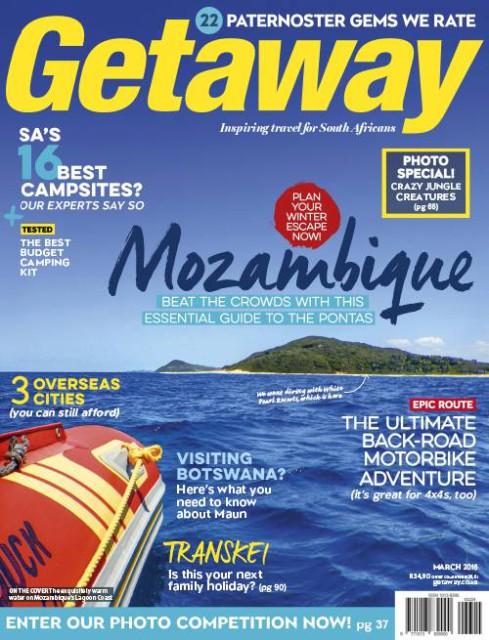 Getaway, March 2016