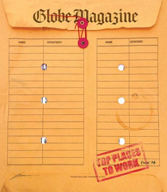 Globe Magazine, 15 November 2015