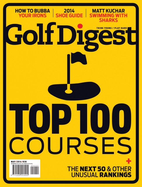 Golf Digest South Africa, May 2014