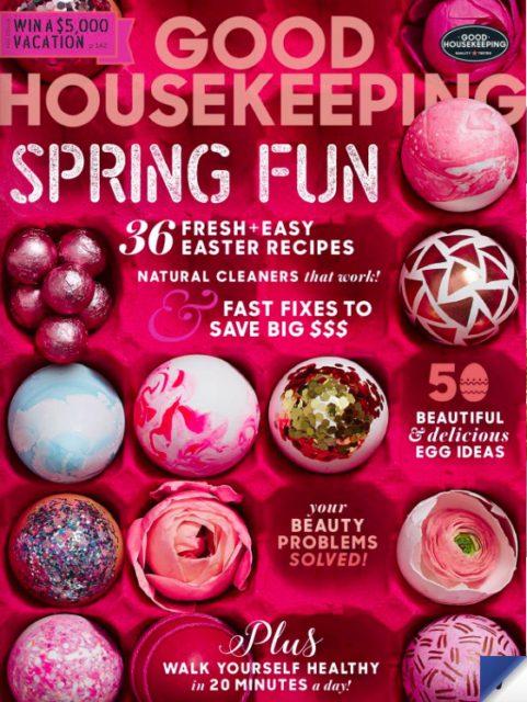 Good Housekeeping (US), April 2017