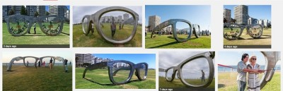 Google Search results for Ray Ban sculpture Cape Town promenade