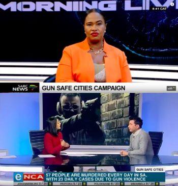Gun Safe Cities by Havas Johannesburg screengrabs