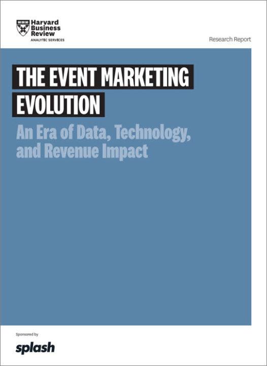 HBR The Event Marketing Evolution cover