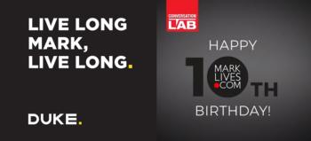Happy 10th birthday wishes to MarkLives slider