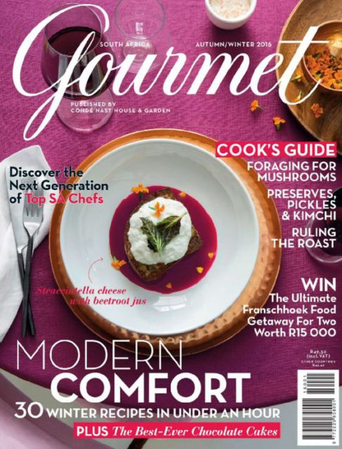 House & Garden Gourmet (South Africa), Autumn/Winter 2016