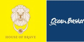 House of Brave logo and Ocean Basket logo