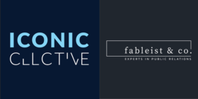 Iconic Collective logo and Fableist & Co logo