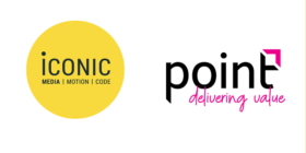 Iconic logo and Point Group logo