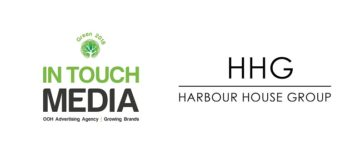 In Touch Media logo and Harbour House Group logo
