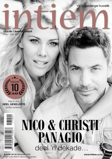 Intiem, December January 2017: Christi and Nico Panagio