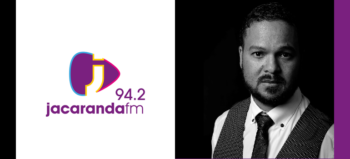 Jacaranda FM logo and Leith Smith