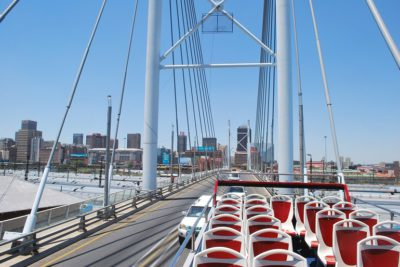 Johannesburg Nelson Mandela Bridge courtesy of Pixabay