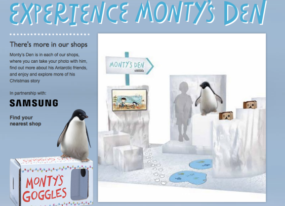 John Lewis Monty the Penguin 2