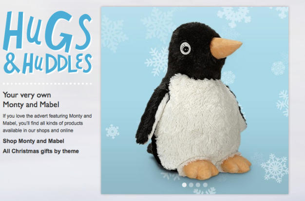 John Lewis Monty the Penguin 4