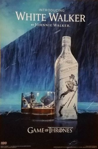 Johnnie Walker White Walker ad