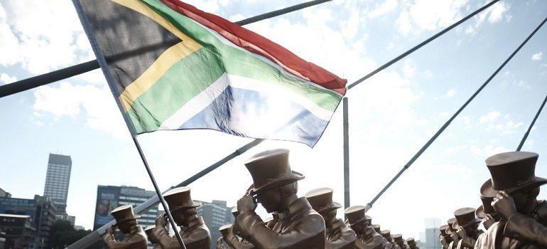 Johnnie Walker on Nelson Mandela Bridge, Johannesburg