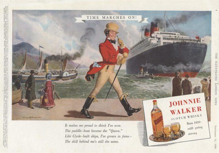 Johnnie Walker print ad 1948 cu tmo 2 ah