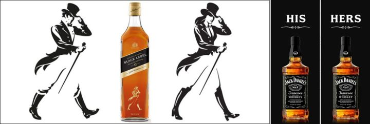 Johnnie and Jane Walker vs Jack Daniels