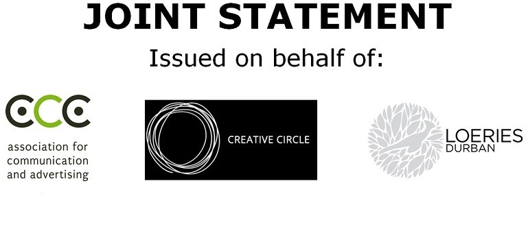 Joint statement ACA Creative Circle Loeries logos