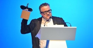 Keith Rose with Loeries award