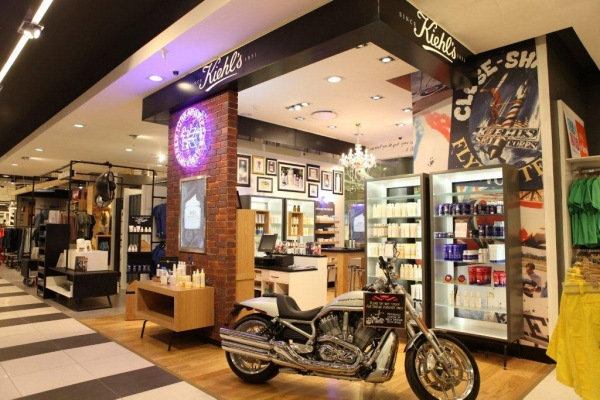 Kiehl's first store in Africa, in Johannesburg, South Africa