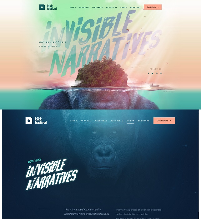 Kikk Festival, Invisible-Narratives, November 2017