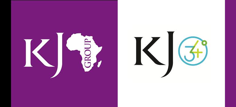King James Group Africa logo and KingJames34logo