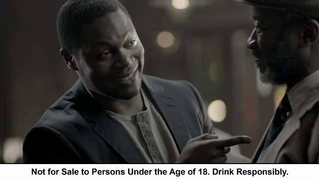 King James 'The Reader' TVC for Bells screengrab 3