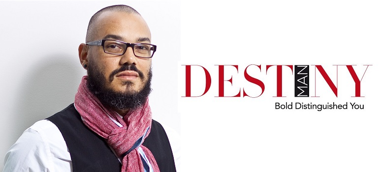 Kojo Baffoe and Destiny Man logo
