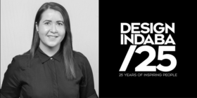Kyley Potgieter and Design Indaba 25 logo