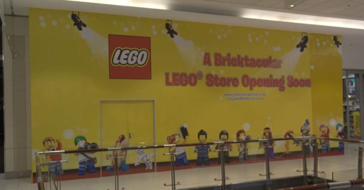 LEGO store coming soon at Sandton City