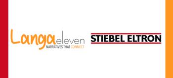 Langa Eleven logo and Stiebel Eltron logo