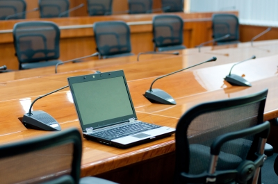 Laptop in Meeting Room by sixninepixels courtesy of FreeDigitalPhotos.net