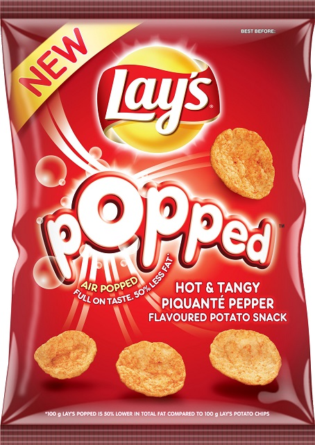 Lays Popped 85g Hot & Tangy Piquanté Pepper