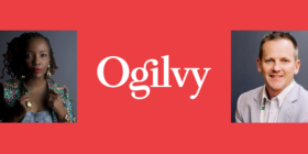Lerato Tshabalala, Ogilvy logo and Patrick Conroy